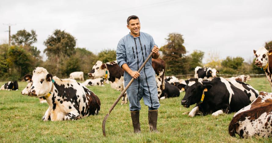 Portrait photo et vidéo par photographe et filmmaker professionnelle en agriculture