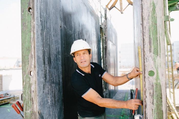 Artisan du bâtiment : photographe de portrait