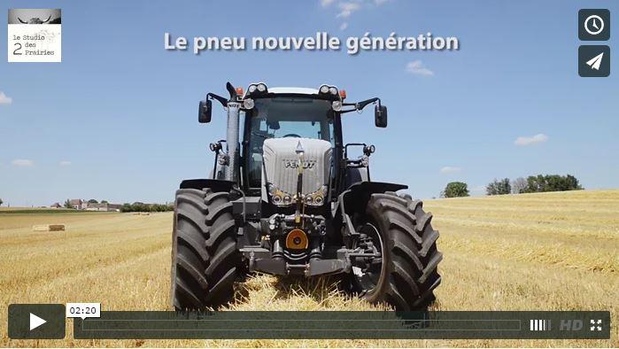 Réalisation de vidéo machinisme agricole : Bridgestone VT Tractor