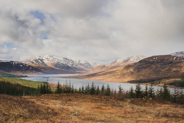 Photographie de paysages à l'étrnager (Ecosse) - photographe specialisée