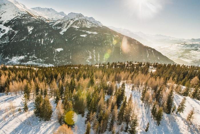 Photographie aérienne de paysage - photographe professionnelle