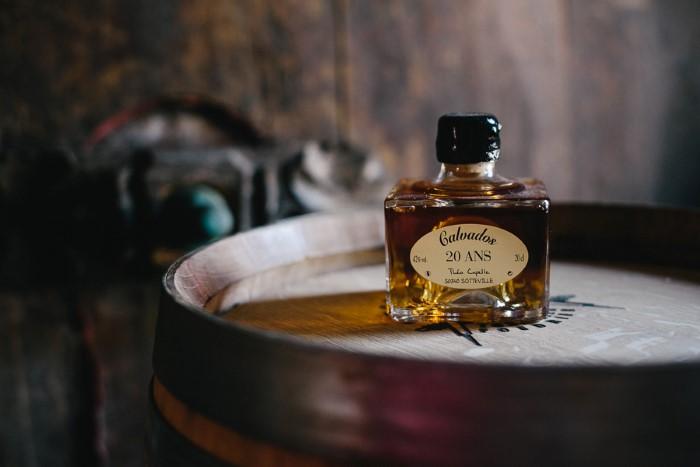 Photos culinaire de bons produits, cognac