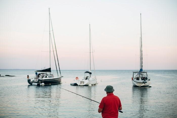 Peche en mer - reportage photo par photographe pro