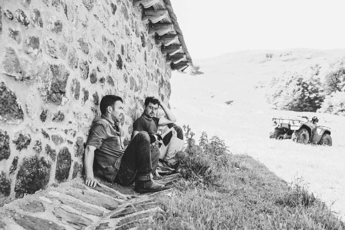 Transhumance en Auvergne - reportage photo