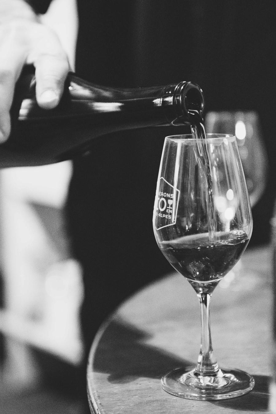 Degustation de vins de Rhone-Alpes pour Inv'action 2016