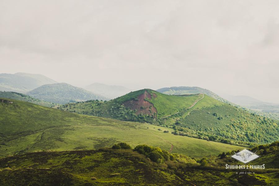 Vue du Puy de Dôme - photographie paysages d'Auvergne - ©Eve Hilaire