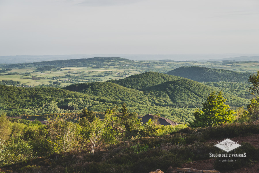 Vue du Puy de Jume - photos paysages Monts Domes