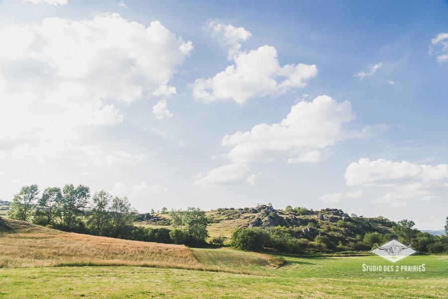 Olloix / la Monne - paysages d'auvergne