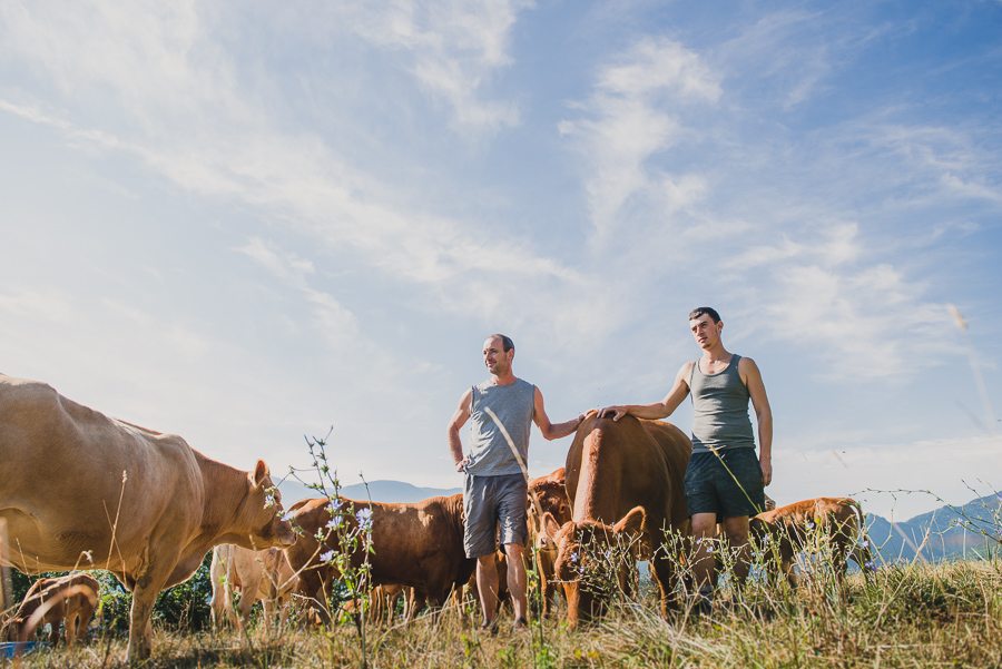 Photographe en agriculture : reportage chez les éleveurs en Isère