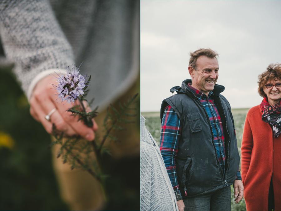 Portrait photo d'une famille de paysans, éleveur et céréalier ©Studio des 2 Prairies