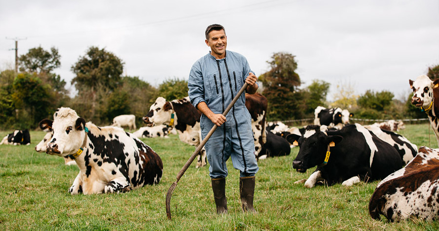 Portrait photo et vidéo par photographe professionnelle en agriculture