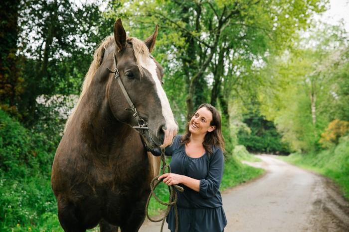 Photos agriculture : chevaux