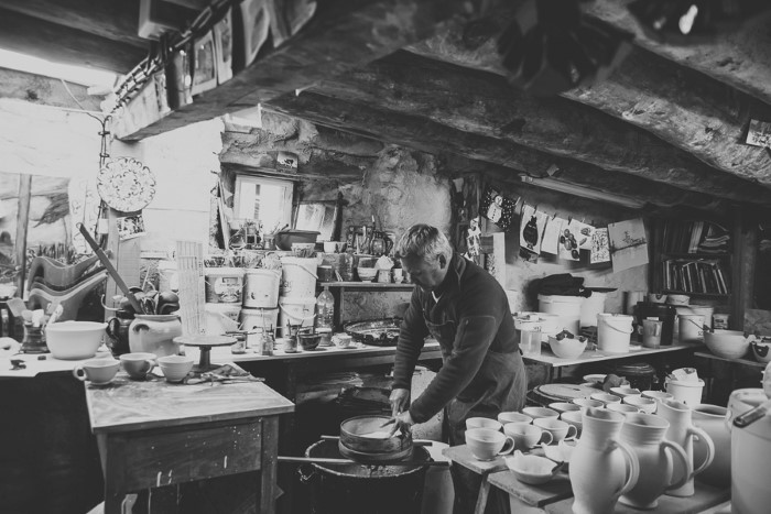 Poterie : reportage photo en artisanat