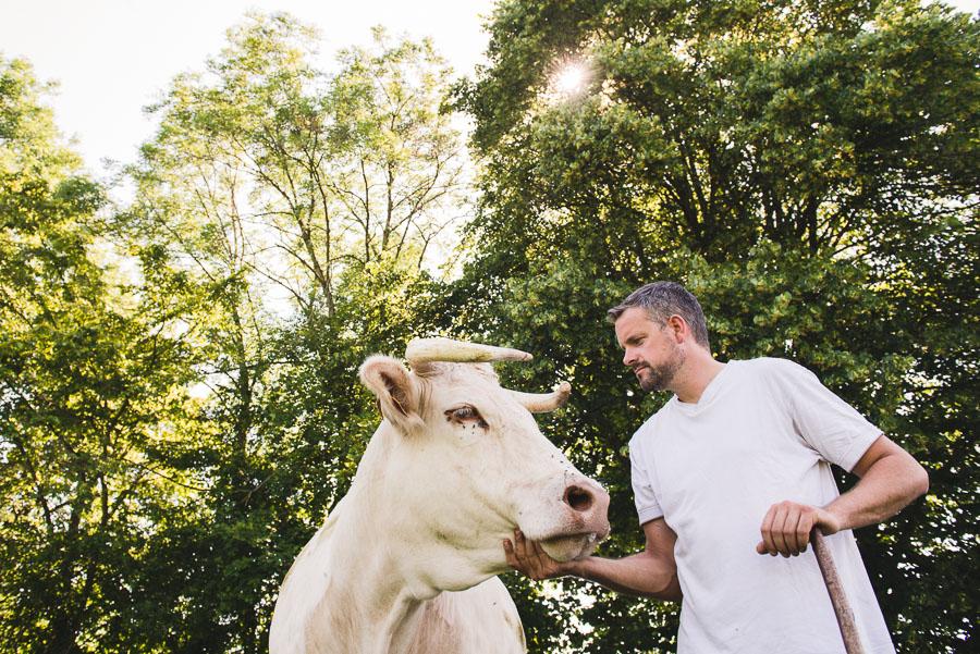 Portraits photo d'éleveurs isérois - photographe agriculture